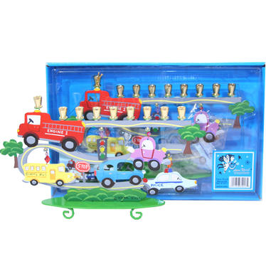 Kids Traffic Menorah