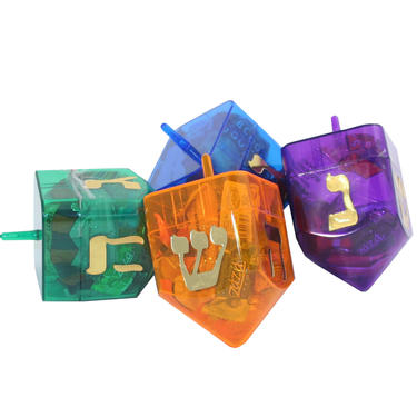 Large Dreidel Filled With Candy