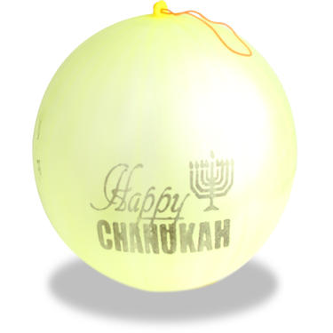 LG Happy Chanukah Bumping Balloons - 12CT