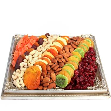 Tu Bishvat Dried Fruit Picture Frame