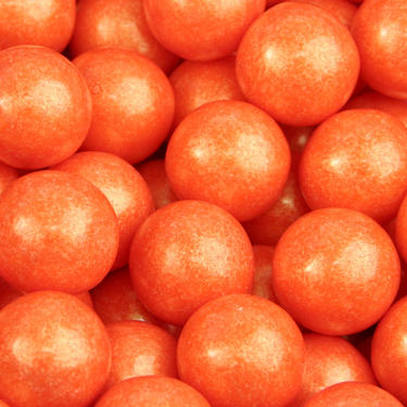 Orange Pearl Gumballs