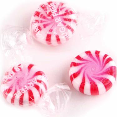 Sugar-Free Red Starlight Candy - Peppermint