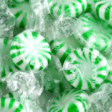 Sugar-Free Green Starlight Candy - Bulk