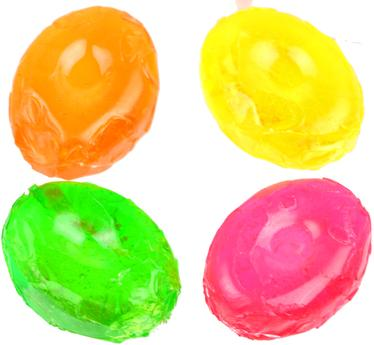 Arcor Fruit Drops Hard Candy - Unwrapped
