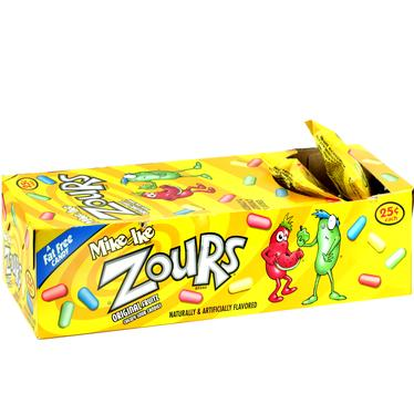 Mike & Ike Jelly Candy - ZOURS (24CT Case)