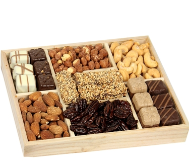 Rectangle Wooden Gift Tray