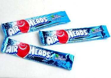 Blue Raspberry AirHeads Taffy Candy Bars