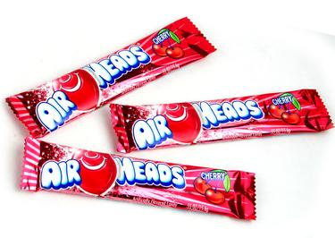 Cherry AirHeads Taffy Candy Bars
