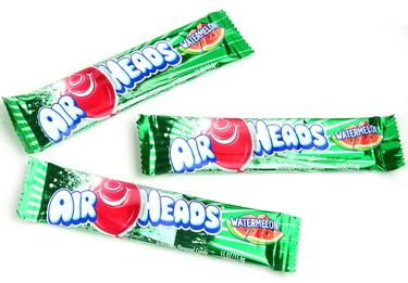 Watermelon AirHeads Taffy Candy Bars