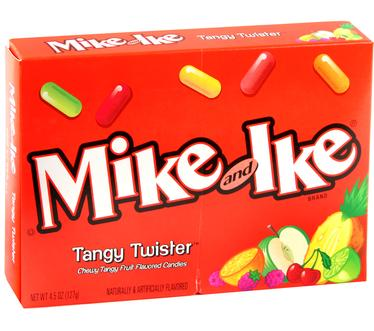 Mike & Ike Jelly Candy - Tangy Twist (12CT Case)