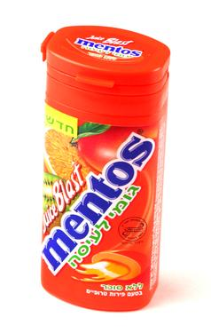 Mentos Juicy Blast Tropical Fruit Filled Gum