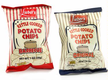 Regular & Barbecue Kettle Cooked Potato Chips - 16PK