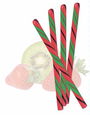 Strawberry Kiwi Candy Stick