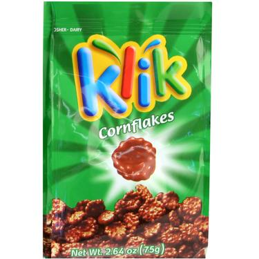 Klik Milk Chocolate Coated Cornflakes - 6PK