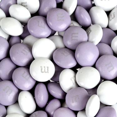 Lavender & White M&M's Chocolate Candy