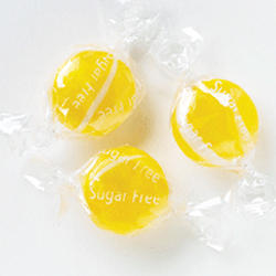 Sugar-Free Lemon Buttons Hard Candy