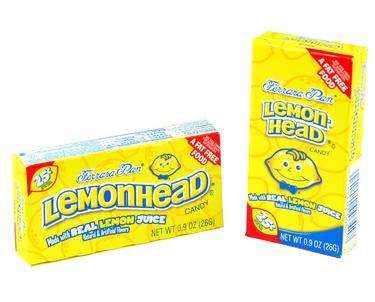 Lemonheads Mini Candy Balls