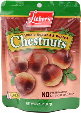 Peeled Roasted Chestnuts - 12CT Case