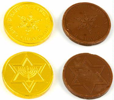 Madelaine Milk Chocolate Coins Chanukah Gelt
