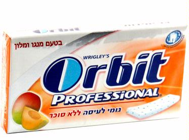 Orbit Professional Mango & Melon Gum Sticks - 12CT