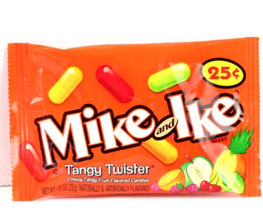 Mike & Ike Jelly Candy - Tangy Twist