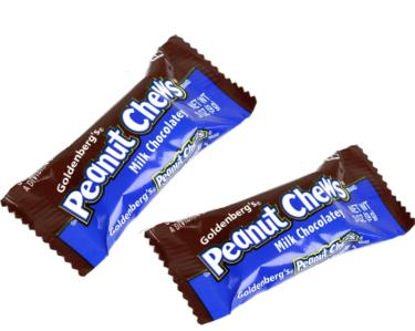 Milk Chocolatey Peanut Chews Mini Bars