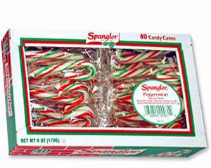 Mini Wrapped Peppermint Candy Cane