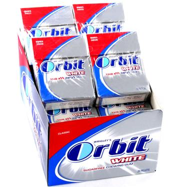 Orbit White Classic Mint Gum Pellets - 16CT