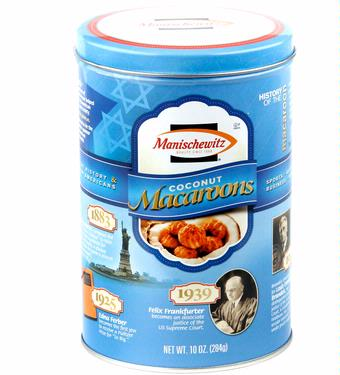 Coconut Macaroons Commemorative Tin