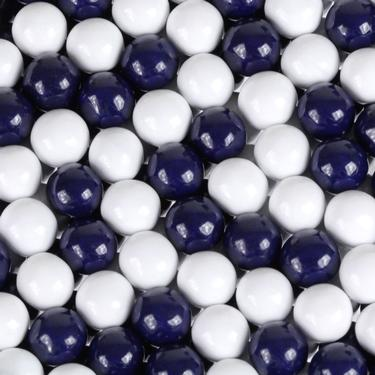 Navy Blue & White Sixlets