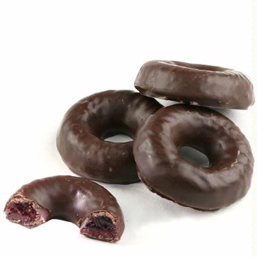 Passover Chocolate Raspberry Jelly Rings