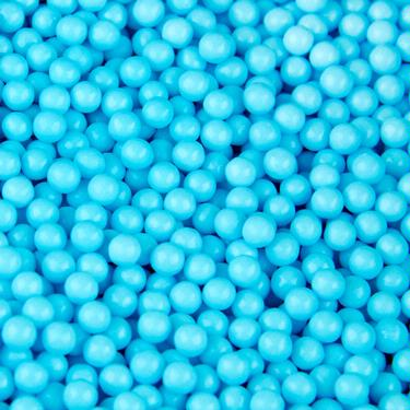 Light Blue Candy Beads
