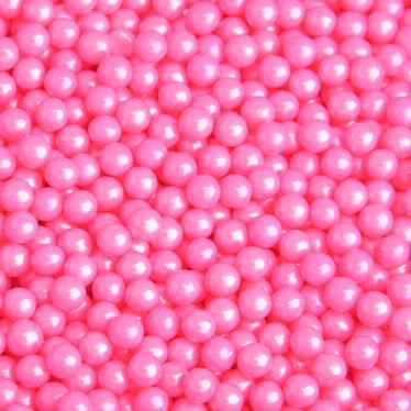 Pink Pearl Candy Beads