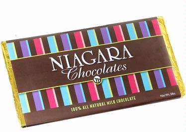 Niagara 5-Pound Milk Chocolate Bar