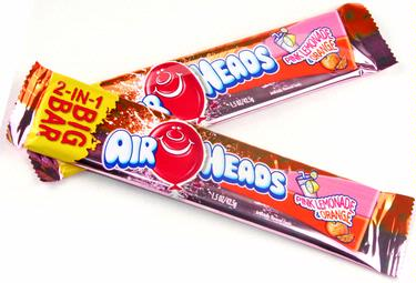 AirHeads Big Taffy Bar - Orange & Lemonade
