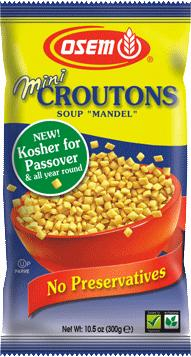 Passover Mini Soup Croutons - 10.5 oz