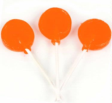 Orange Lollipops
