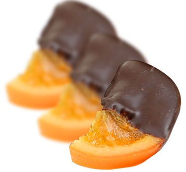 Dark Chocolate Dipped Glazed Orange Slices  - 8 oz