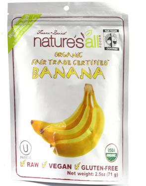 Organic Dehydrated Banana - 1.5 oz