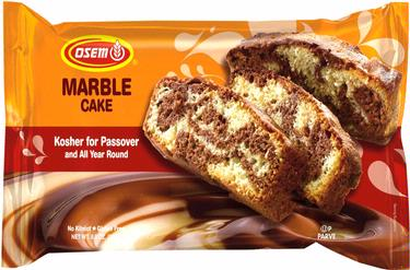 Osem Passover Marble Cake - 9CT Case