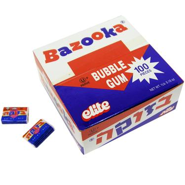 Strawberry Bazooka Bubble Gum