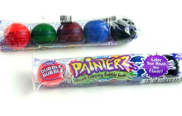 Dubble Bubble Painterz Gumballs 5-Pc Tubes