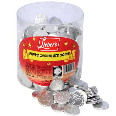 Bittersweet Chocolate Coin Tub