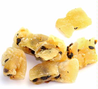 Natural Dried Passion Fruit Quarters
