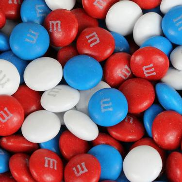 Patriotic M Amp Ms Chocolate Candy July 4th Patriotic Candy