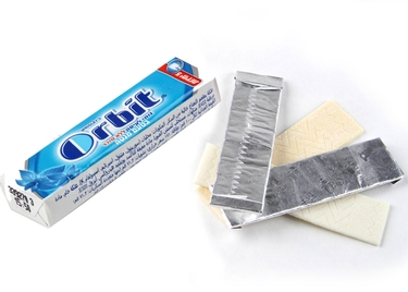 Orbit Peppermint Multi-Pack Gum Sticks - Unwrapped