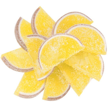 Pineapple Jelly Fruit Slices - 5LB Box