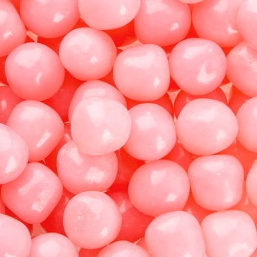 Light Pink Fruit Sours Candy Balls - Watermelon