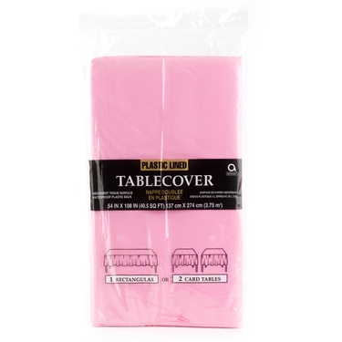 Light Pink Paper Table Cover