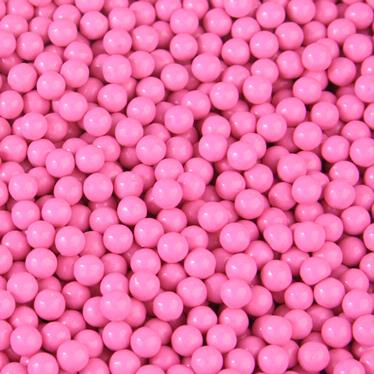 Hot Pink Candy Beads